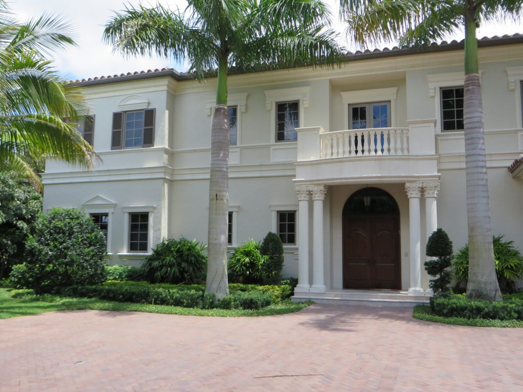 Mario Mangone Architect Jupiter Florida, Classic Italian Renaissance Home