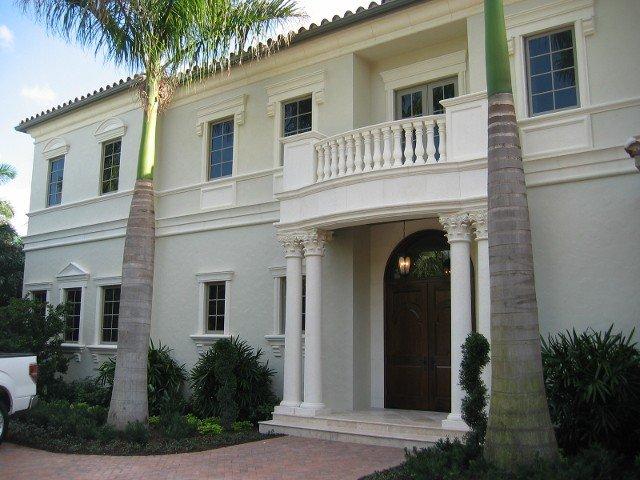 Mario Mangone Architect Jupiter Florida, Classic Home Style